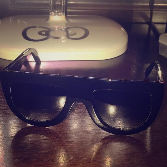 e71486582908 Celine Accessories - Authentic Céline Andrea Black Sunglasses 41398 S